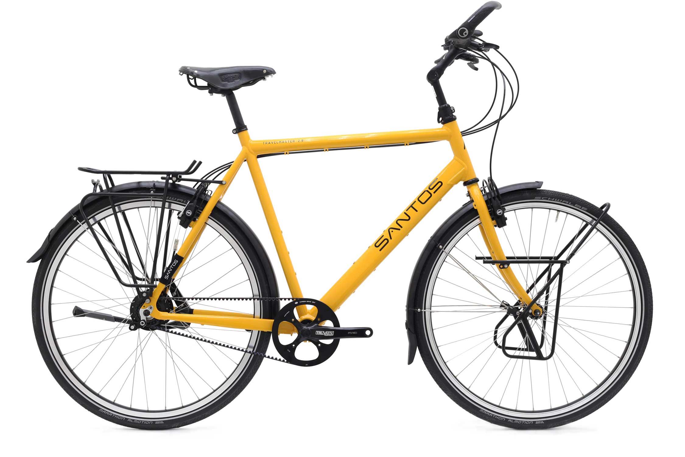 Santos Travel master 2.8 is een legendarische vakantiefiets. Kom hem bekijken en testen bij Beagle Bikes.
