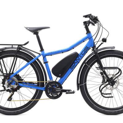Travel master 3+ ebike santos beagle bikes dames blauw