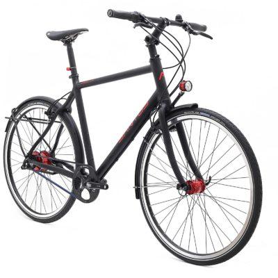 De trekking Lite van Santos is een hele lichte, betrouwbare en onderhouds arme fiets. Kom kijken bij Beagle Bikes in Utrecht.