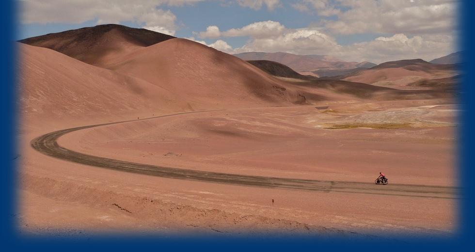 Marijke en Johan in de Andes