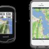 Garmin Oregon 600 versus iPhone SE/5/5s