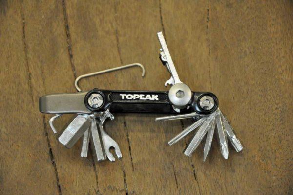 Topeak 20 pro multitool fietsgereedschap