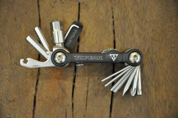mini 18+ multitool Topeak voor de fiets