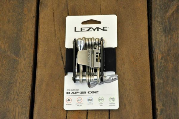 Multi tool Lezyne with CO2 tool