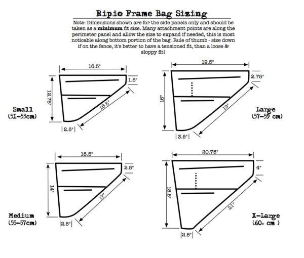 Revelate Designs Ripio Frametas Bikepacking toerfietsen