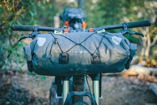 Handlebar-Pack Handlebar pack Ortlieb stuurtas voor Bikepacking