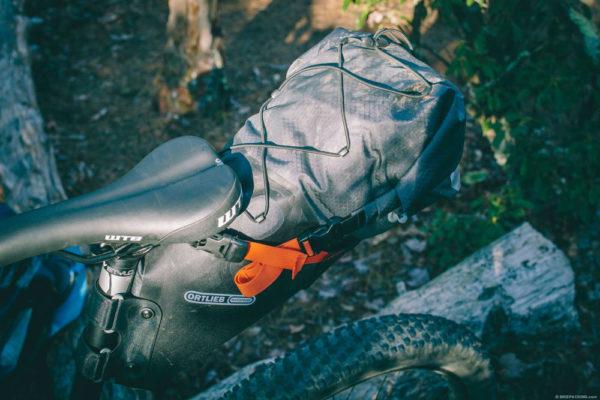 Seatpack Ortlieb Bikepacking tassen