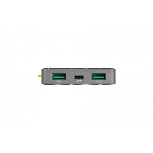 Xtorm powerbank 10000mAh USB-aansluitingen