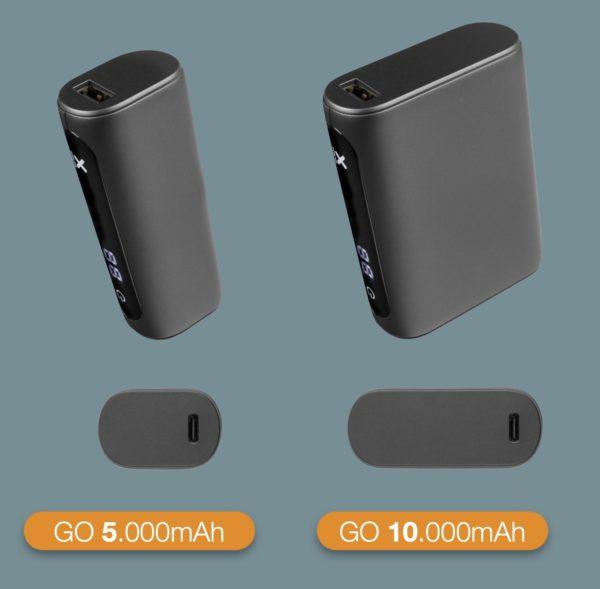 Xtorm powerbank GO 5000 versus 10000