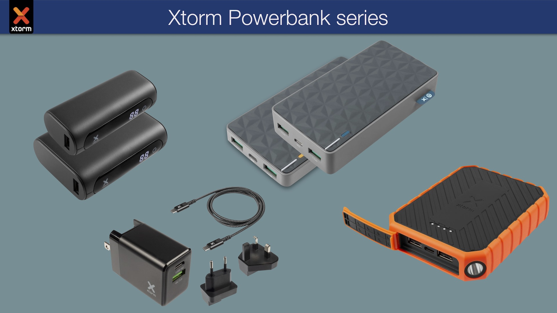 Xtorm power banks series GO FUEL RUGGED